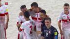 Video «Schweizer Beachsoccer-Nati startet mit Sieg» abspielen