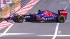 Video «Formel 1: Daniel Kwjat - Sebastian Vettels Nachfolger» abspielen