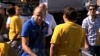 Video «Cup: Letzter Auftritt von Magnin» abspielen