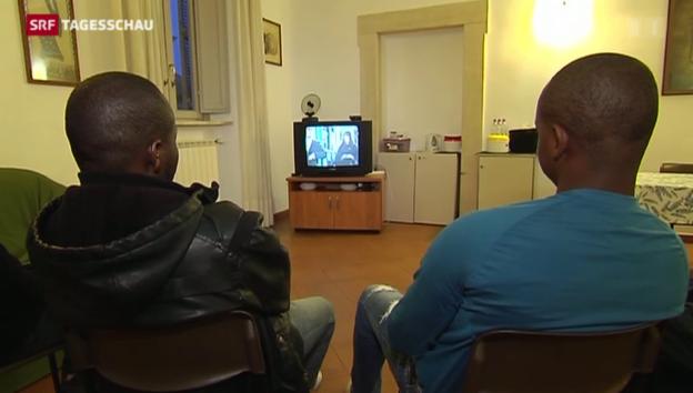 Video «Italien – Endstation Hoffnung für viele Flüchtlinge» abspielen