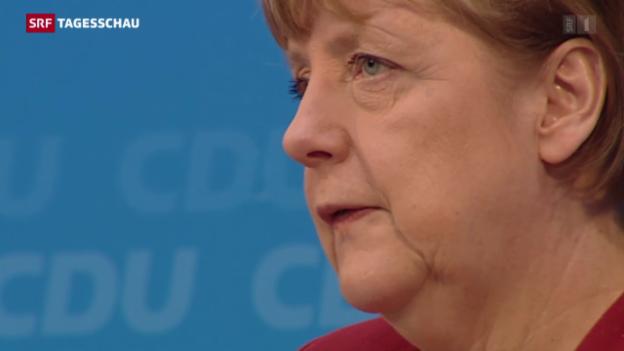 Video «Warum sich die deutsche Kanzlerin für Flüchtlinge einsetzt» abspielen
