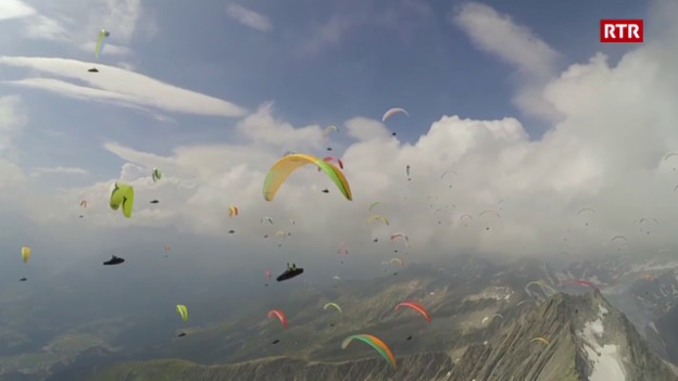Laschar ir video «Impressiuns dals parasguladers a Mustér»