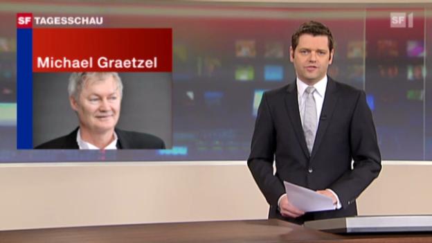 Video «Schweizer Chemiker Graetzel ausgezeichnet» abspielen