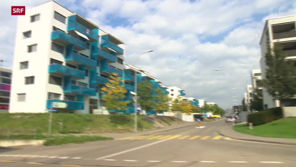 Stadt Schlieren boomt