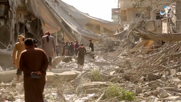 Video «Die Schlacht um Rakka hat begonnen» abspielen