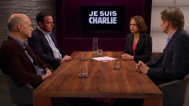 Video «Anschlag auf «Charlie Hebdo» – Angriff auf den Westen?» abspielen