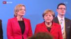 Video «Heikles Verhältnis zur Kanzlerin» abspielen