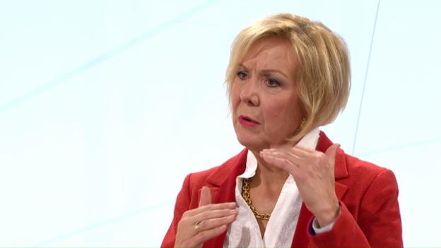 Video «Monika Ribar über den Lohn des SBB-Konzernchefs» abspielen
