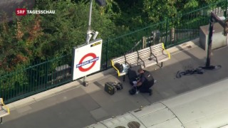 Video « Bombenexplosion in Londoner U-Bahn» abspielen