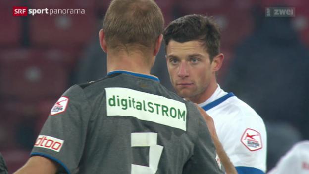 Video «Fussball: SL, Zürich - GC» abspielen