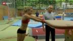 Video «Ariella Kaeslin und der doppelte Jurtschenko» abspielen