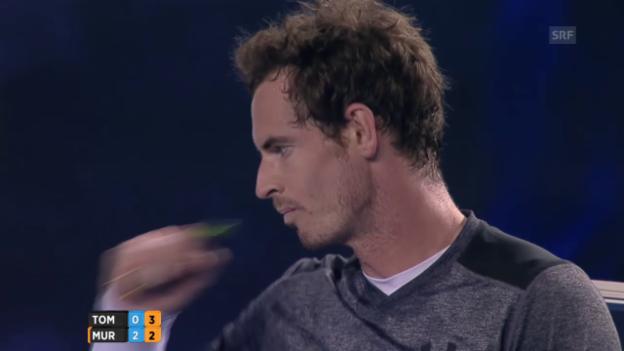Video «Murray lässt Tomic keine Chance» abspielen