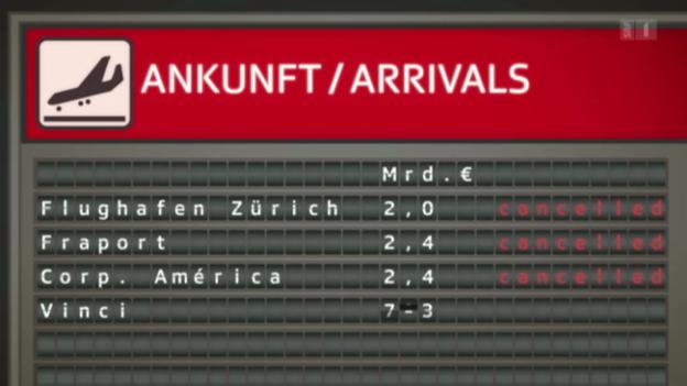 Video «Flughafen Zürich: Keine Expansion nach Portugal» abspielen