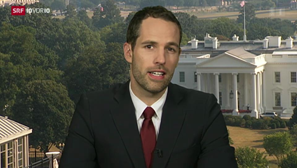 SRF-Korrespondent Honegger zur US-Position