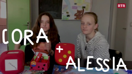 Laschar ir video «Cora ed Alessia»