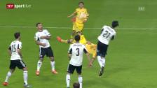 Video «Fussball: Tor des Tages bei Warschau-Charkow» abspielen