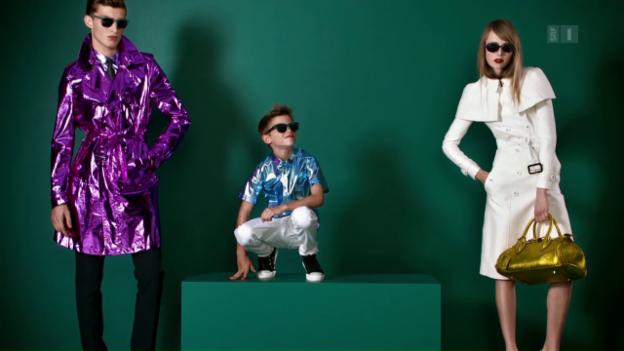 Video «Model-Nachwuchs: Kinder von Stars auf dem Laufsteg» abspielen