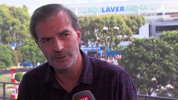 Video «Tennis: Australian Open, Interview mit Heinz Günthardt» abspielen