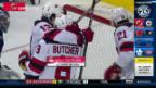 Video «Die NHL-Schweizer in Skorerlaune» abspielen