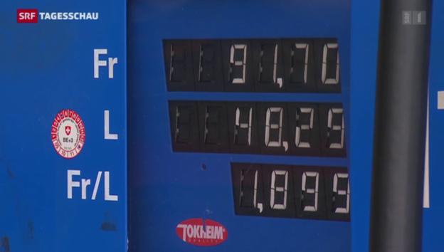 Video «Benzin soll teurer werden» abspielen