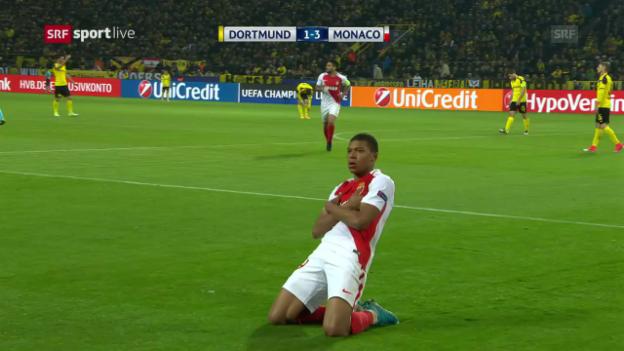 Video «Dortmund – Monaco» abspielen