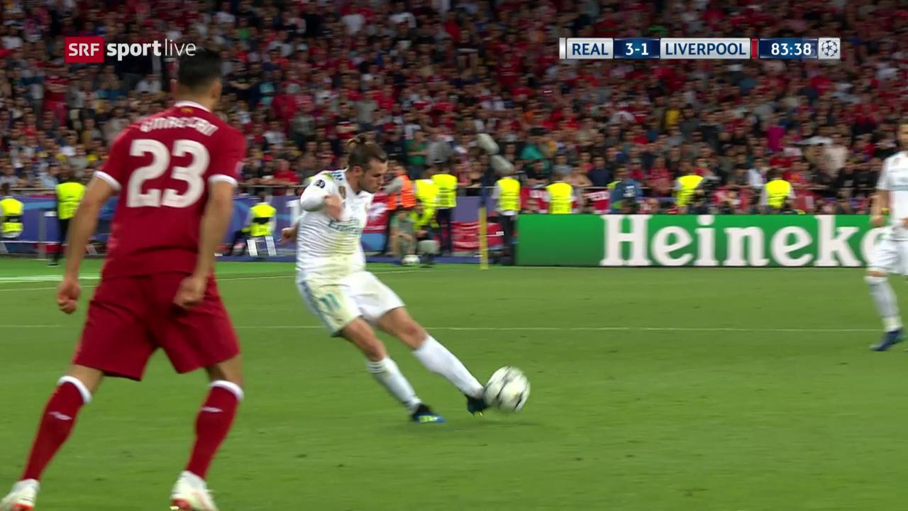 Der 2. Treffer von Gareth Bale
