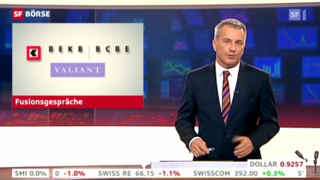 Video «Fusionsgespräche zwischen Valiant und BEKB» abspielen