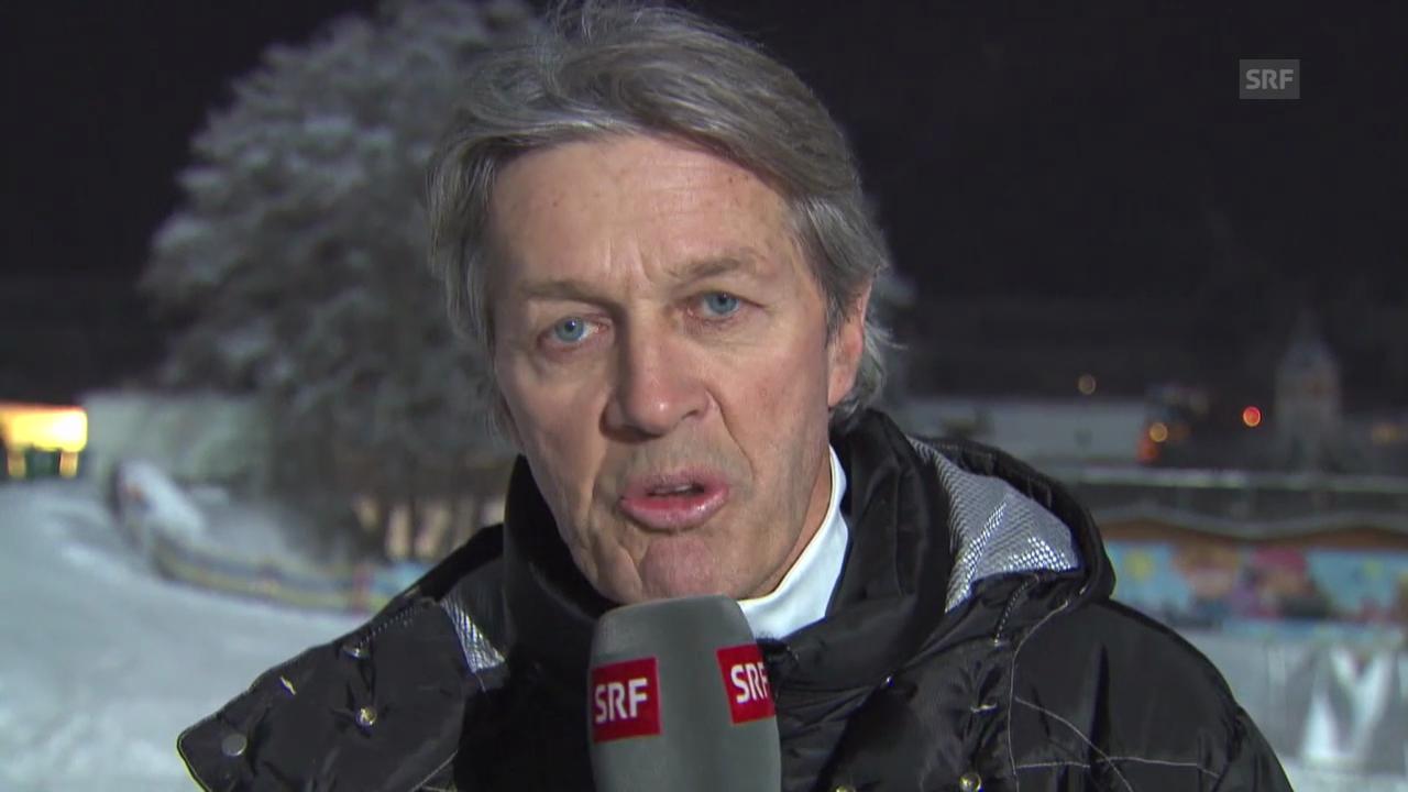 Ski: Weltcup-Rennen in Kitzbühel («sportaktuell», 24.1.2014)