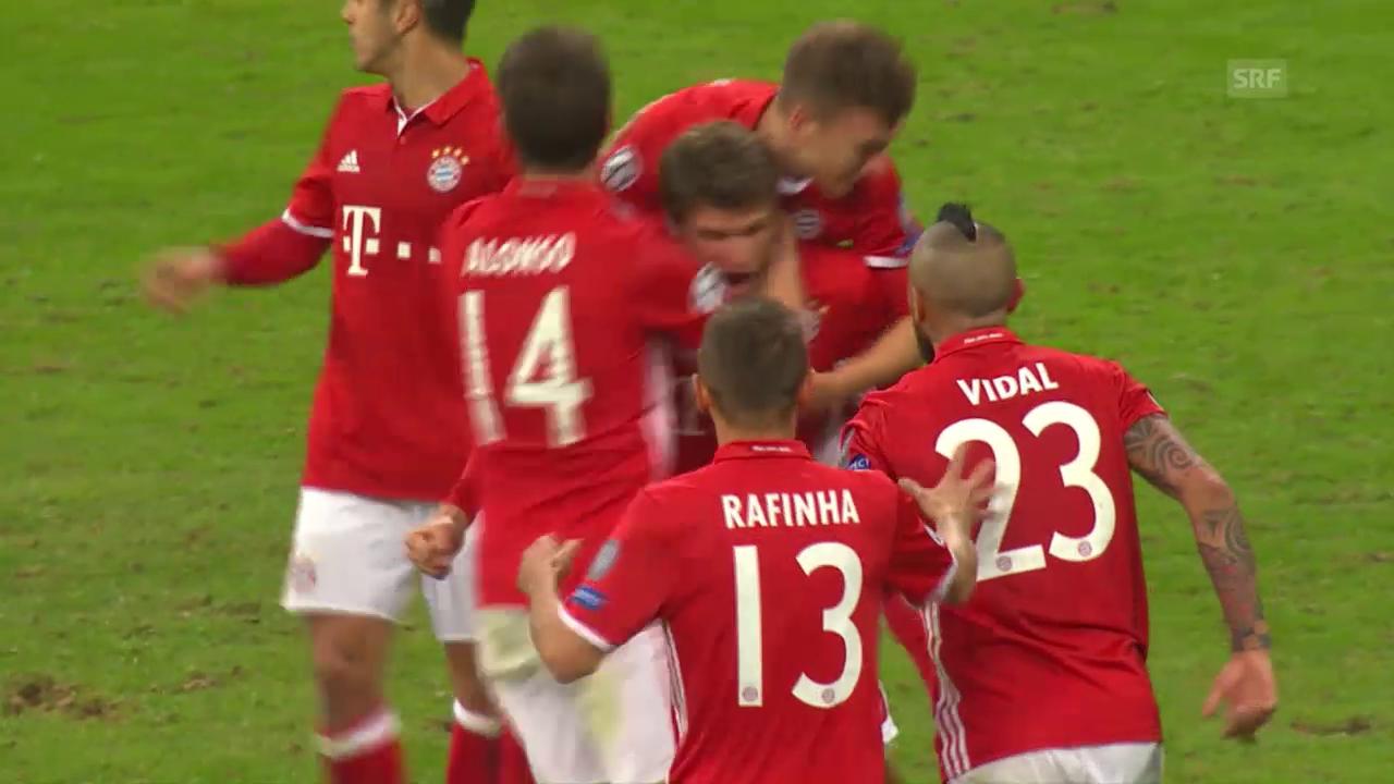 Arsenal kommt bei Bayern unter die Räder