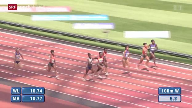 Video «Leichtathletik: Diamond-League-Meeting in London» abspielen