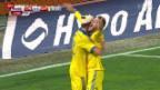 Video «Fussball: EM-Barrage, Slowenien-Ukraine» abspielen
