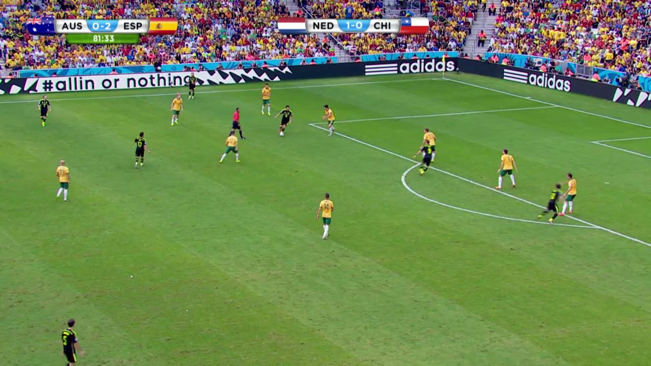 Australien - Spanien: Die Live-Highlights