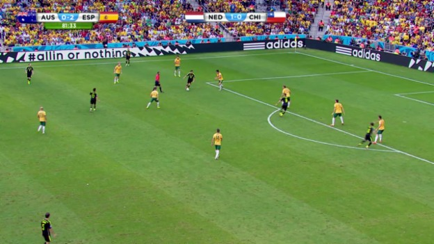 Video «Australien - Spanien: Die Live-Highlights» abspielen