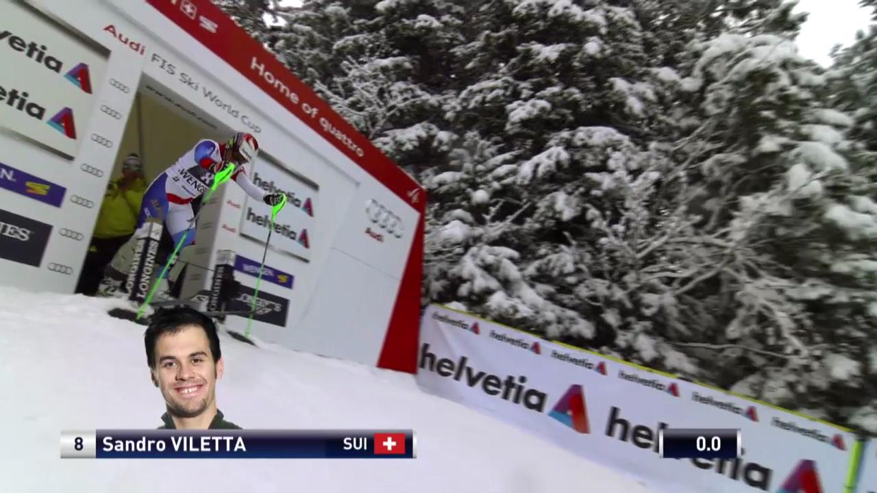 Ski: Weltcup, Super-Kombination Wengen, Zusammenfassung Slalom («sportlive» 17.1.2014)