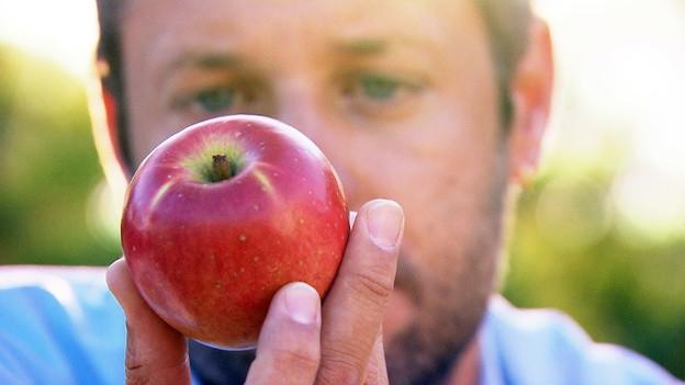Video «Apfel-Allergie – Neue Früchte ermöglichen trotzdem Genuss» abspielen