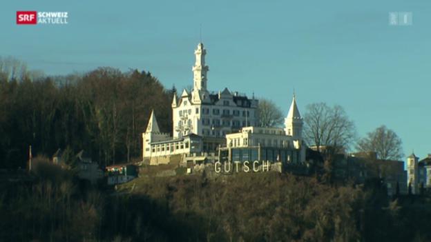 Video «Stadt Luzern macht Druck auf Gütsch-Besitzer» abspielen