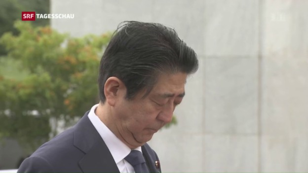 Video «Shinzo Abe in Hawaii» abspielen