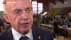 Video «Maurer will Grenzen sichern» abspielen