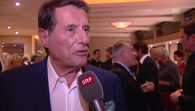 Video «Udo Jürgens erhält den «Prix du Champagne» für sein Lebenswerk» abspielen