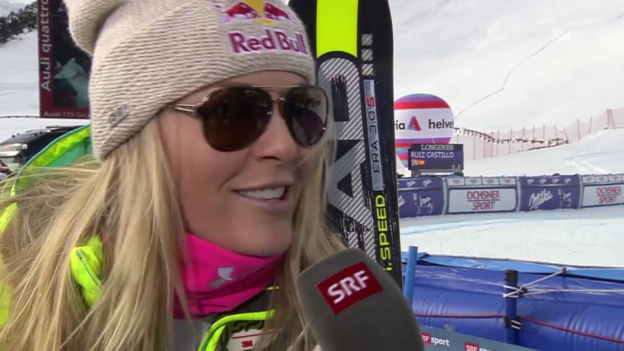 Ski: Lindsey Vonn im Interview