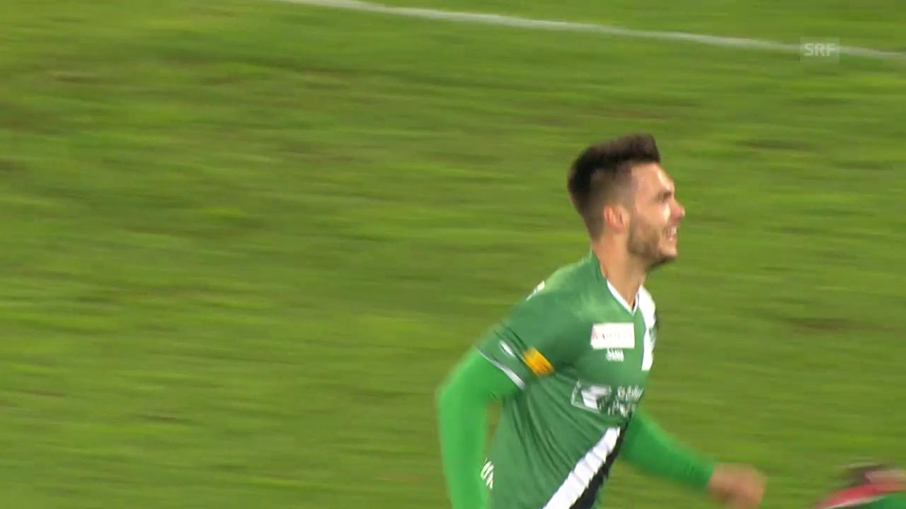3 Tore innert 11 Minuten: Karanovic zum Zweiten