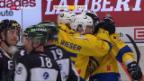 Video «Eishockey: NLA, Freiburg - Davos» abspielen