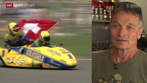 Video «Motorrad: Seitenwagen-Legende Rolf Biland» abspielen