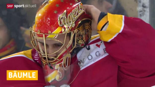 Video «Eishockey: Kloten verpflichtet Thomas Bäumle («sportaktuell»)» abspielen