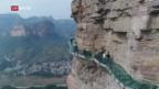 Video «Wandern über dem Abgrund» abspielen