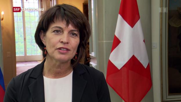 Video «Auch die Schweiz ist erleichtert» abspielen