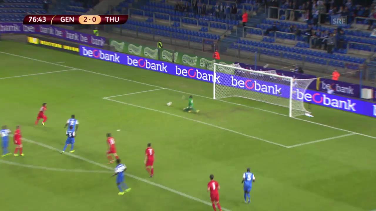 Fussball: Europa League, Zusammenfassung Genk - Thun