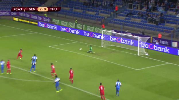 Video «Fussball: Europa League, Zusammenfassung Genk - Thun» abspielen