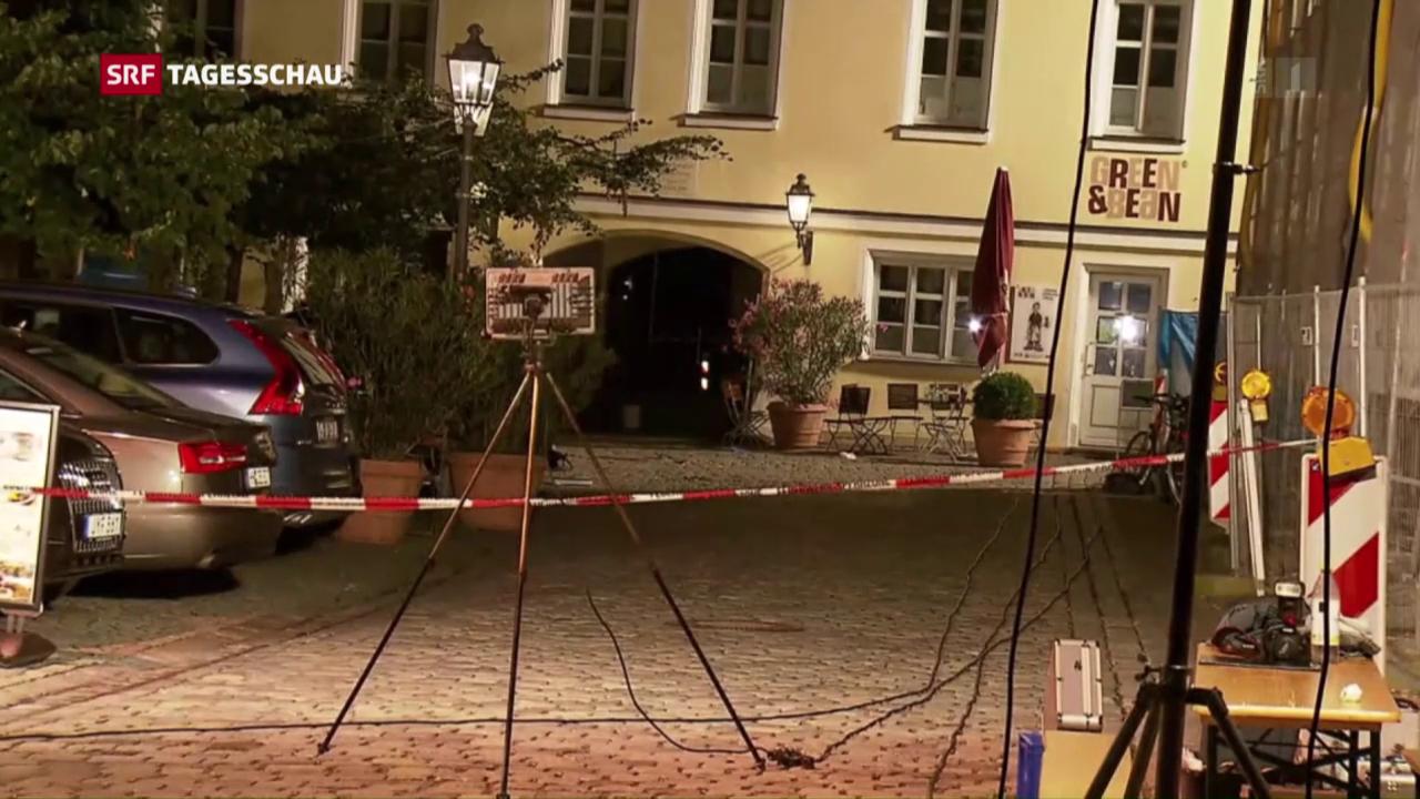 Terrorakt in Ansbach/Bayern