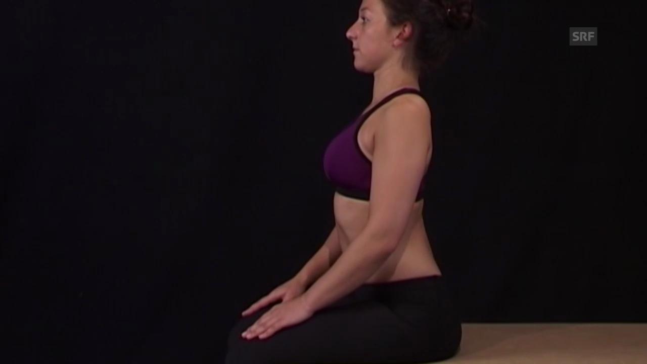 Einfache Nackenübung